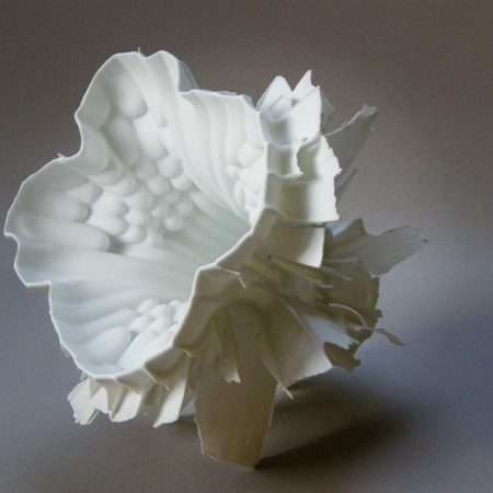 Zsolt Jozsef Simon, Porcelain, 1310°C reduction, cm 25x26x18