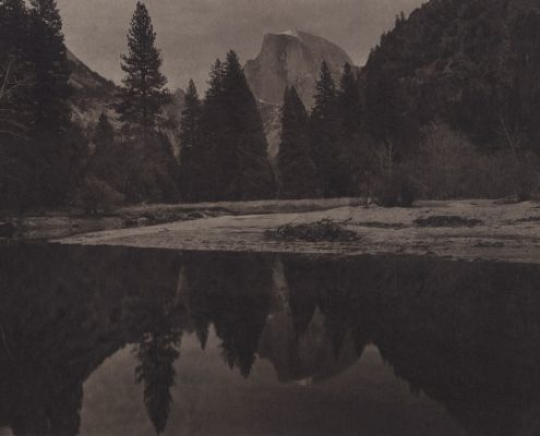 Silent Respiration of Forests. Yosemite #23, 2011. Platinum print on Gampi paper. Es. 5:9. cm 26,5x34