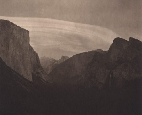 Silent Respiration of Forests. Yosemite #5, 2010. Platinum print on Gampi paper. Es. A.P. cm 19x19
